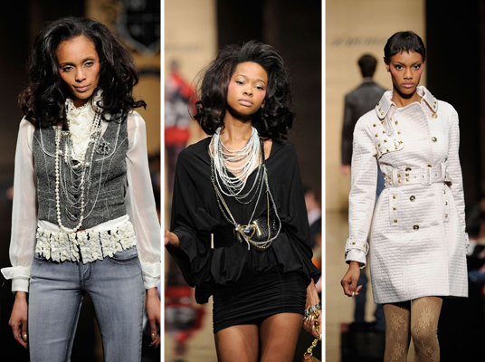 Baby Phat New York Show channeled First Lady all the way.