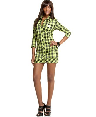 Rocawear plaid tunic. $19 @Macy's. Now that's a deal.