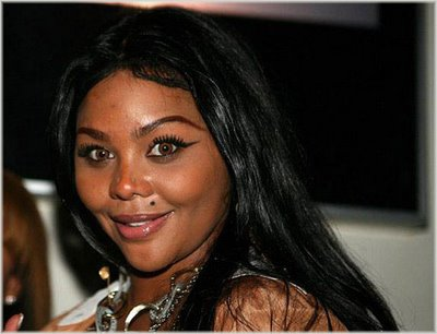Lil Kim, why are you so surprised, we know you wear bad bad weave!