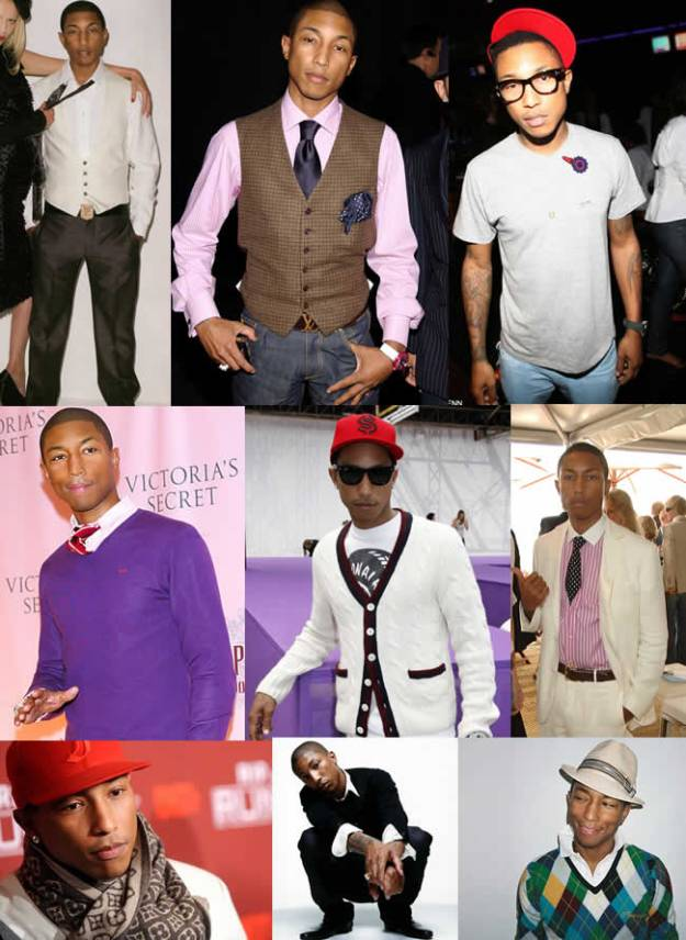 Pharrell was his own unique hip hopper before they all came along.