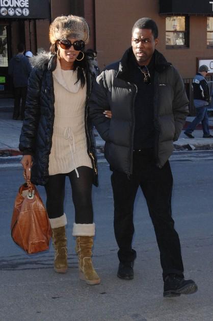 Chris Rock and wife Maalak