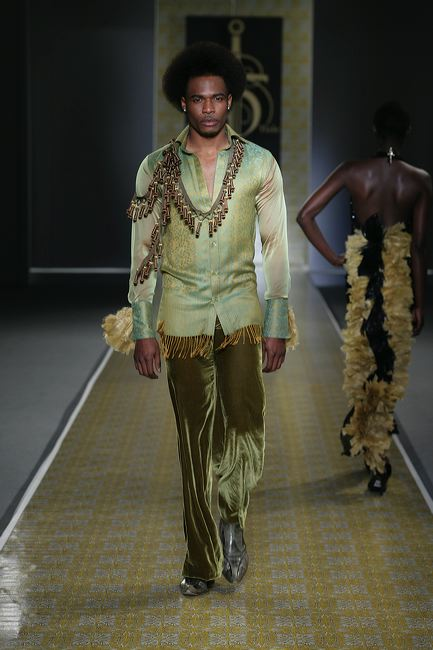 David Tlale goes green!