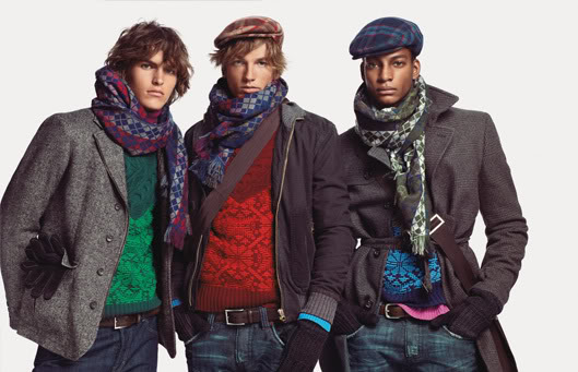 Scarfs and bulk fits never looked this in style!