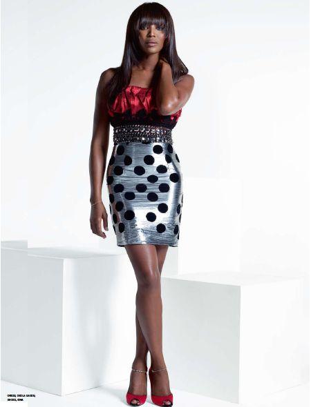 Naomi Campbell in Deola Sagoe