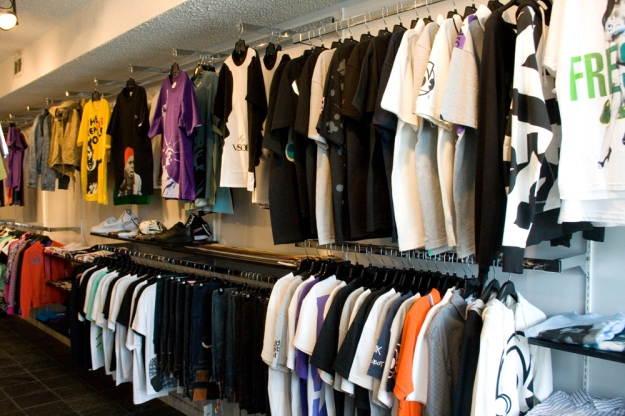 Inside the store @ Room 322